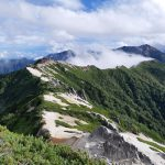 北アルプスデビュー 燕山荘と燕岳山頂